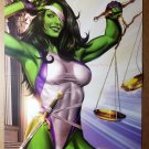 She-Hulk sword scales Marvel Comic Poster by Greg Horn