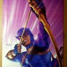 Daredevil Marvel Comics Poster by Alex MaleevHawkeye Marvel Comics Poster by Mike Mayhew