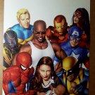 Avengers Jessica Jones Marvel Comic Posters by Mike Mayhew