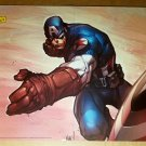 Captain America Marvel Comics Poster by Joe Madureira