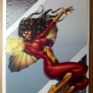 Spider-Woman Marvel Comic Poster by Andrea Divito