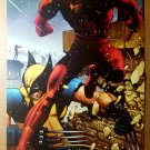 Wolverine Vs Daredevil X-Men Marvel Comic Poster by John Romita Jr