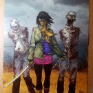 The Walking Dead 19 Michonne Walkers Image Comics Poster by Tony Moore
