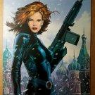 Black Widow Marvel Comics Poster by Greg Land