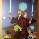 Star Wars Clone Wars Dark Horse Comics Poster by Ben Caldwell