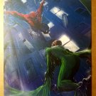 Spider-Man Vs The Vulture Marvel Comic Poster by Gabriele Dell'Otto