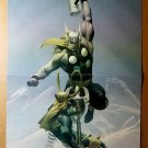 Thor Vs Loki Marvel Comics Poster by Esad Ribic