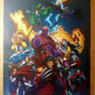 X-Men Age of Apacolyse Rogue Storm Wolverine Marvel Comics Poster by Mark Brooks