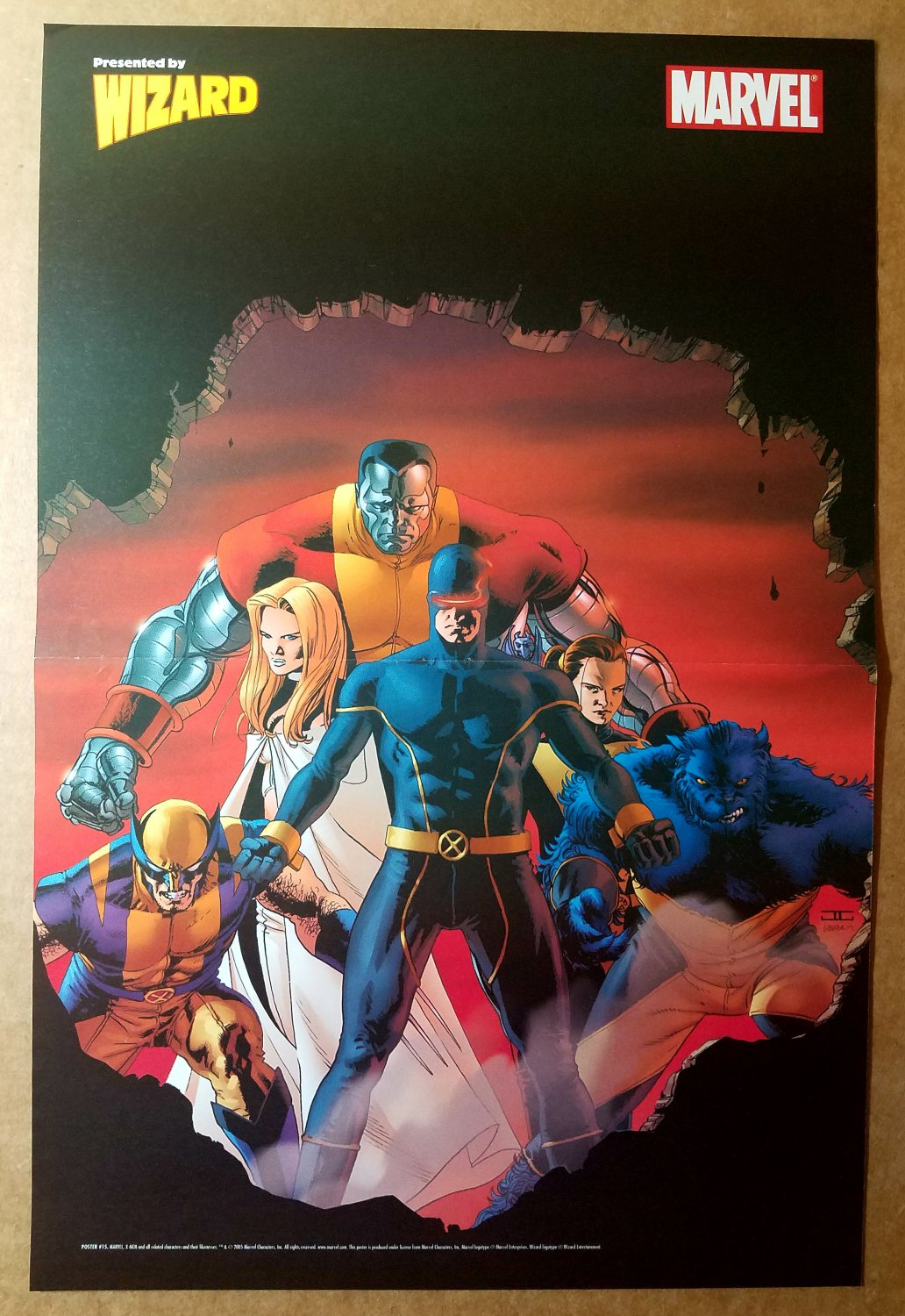 Astonishing X-Men Marvel Comics Poster by John Cassaday