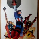 Avengers Thor Captain America Marvel Comic Poster by John Cassaday