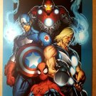 Spider-Man The Ultimates Marvel Comics Poster by Mark Bagley