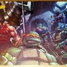 TMNT Teenage Mutant Ninja Turtles DW Comics Poster by Pat Lee
