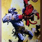 Hellboy Dark Horse Comic Poster by Mike Mignola