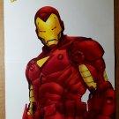 Iron Man Marvel Comics Poster by Jorge Lucas