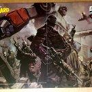Transformers G I Joe Optimus Prime DW Comic Poster by Pat Lee