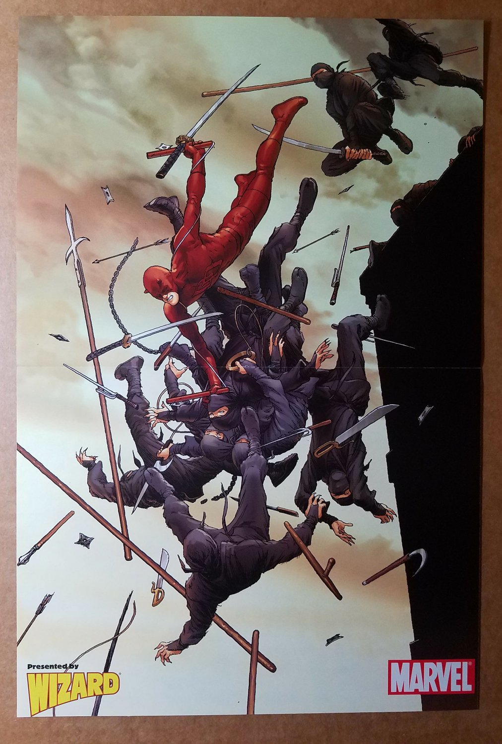 Daredevil Marvel Comics Poster by Frank Quitely
