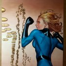 Invisible Woman Marvel Comic Poster by Steve McNiven