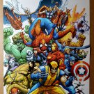 Marvel Team-Up Heroes Good Guys Poster by Scott Kolins