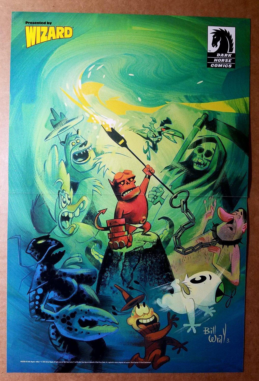 Hellboy Jr Dark Horse Comics Poster by Bill Wray