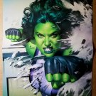 She-Hulk Marvel Comics Poster by Mike Mayhew