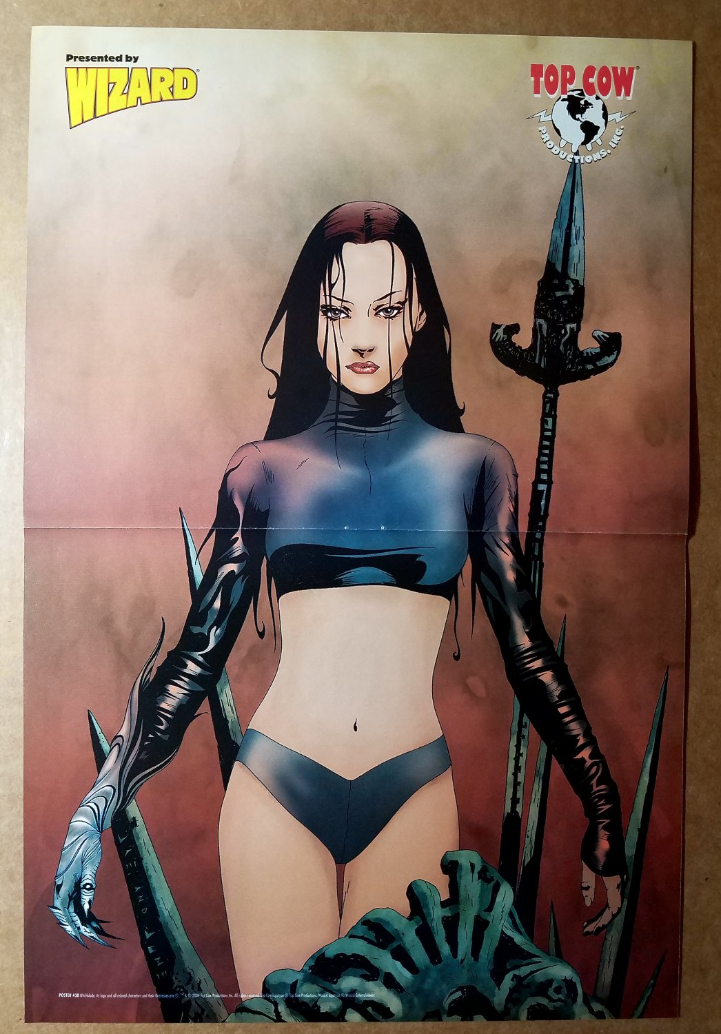 Witchblade Top Cow Comics Poster by Jae Lee