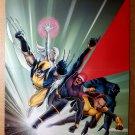X-Men Wolverine Beast Storm Cyclops Marvel Comics Poster by John Cassaday