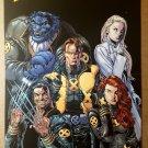 X-Men Wolverine Emma Frost Cyclops Phoenix Beast Marvel Comics Poster by Ethan