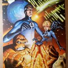 Fantastic Four Marvel Comics Poster by Mike Wieringo