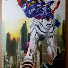 Gundam Anime Insider Manga Bandai Comic Poster by Keu Cha