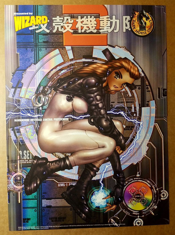 Motoko Aramaki Dark Horse Comics Poster by Masamune Shirow