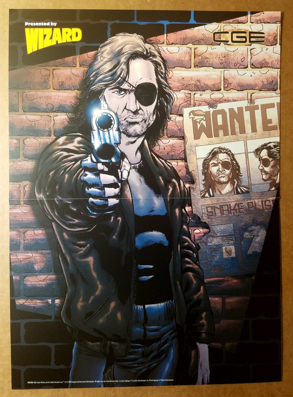 Snake Plisskin Escape from LA New York CrossGen Poster by Tone Rodriguez