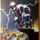 Spider-Man Rain Marvel Comics Poster by John Romita Jr