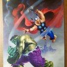 Thor Hulk Avengers Marvel Comics Poster by Joe Jusko Marvel