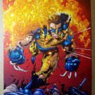 Wolverine on fire bullets Marvel Comics Poster by Sean Chen