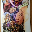 Sojourn Andra Radiant Solus CrossGen Comics Poster by George Perez