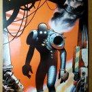The Coffin Oni Press Comic Poster by Mike Huddleston