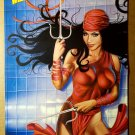 Elektra Marvel Comics Poster by Greg Horn