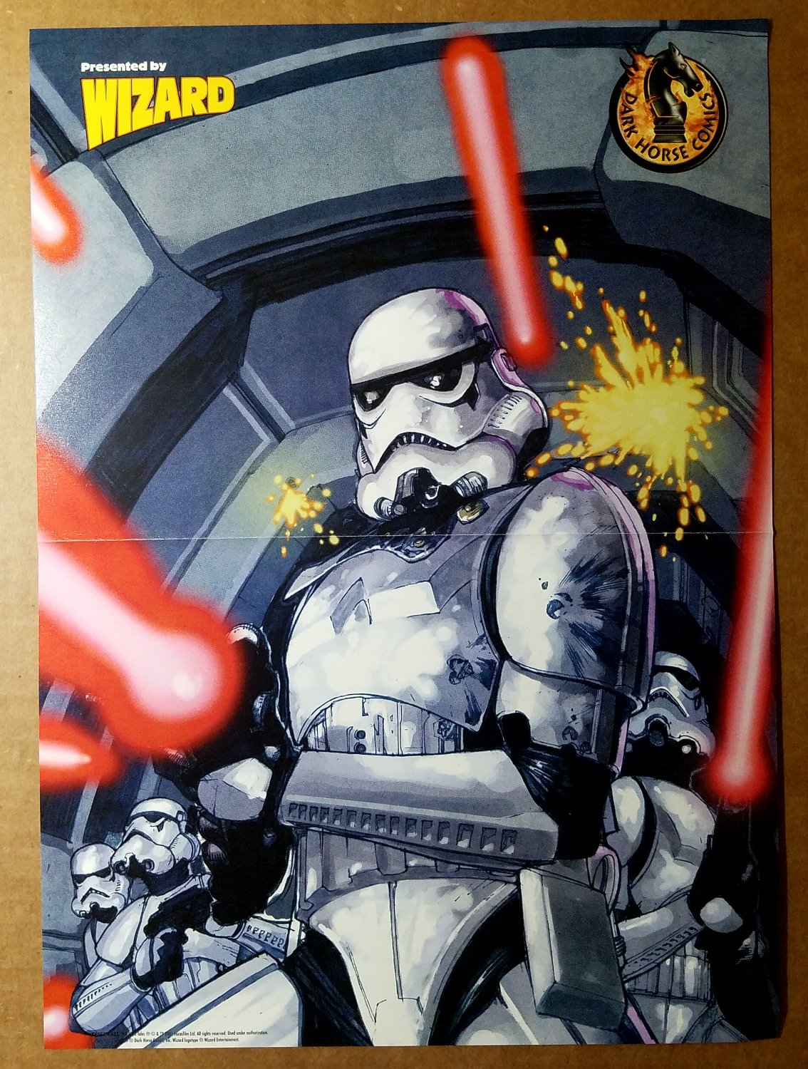 Star Wars Tales Storm Troopers Dark Horse Poster by Leinil Francis
