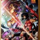 Vampirella Vampi Xenocyde Haris Comics Poster by Kevin Lau