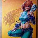 Dawn Sirius Comics Poster by Joseph Michael Linsner