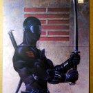 G I Joe Snake Eyes Marvel Comics Poster by David Michael Beck