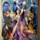 Scion Ashleigh Mystic Giselle Sojourn Arwyn CrossGen Poster by George Perez