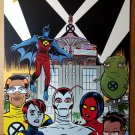 X-Force New Beginnings Marvel Comics Poster by Mike Allred