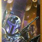 Star Wars Jango Fett Mandalorian Dark Horse Comics Poster by Tom Flower