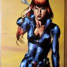 Black Widow Avengers Marvel Comics Poster by J G Jones
