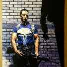 The Punisher with gun Marvel Comics Poster by Tim Bradstreet