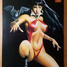Vampirella Vampire Bat Chaos Comics Poster by Mike Mayhew