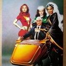 X-Men Phoenix Storm Rogue Prof X Marvel Comics Poster by Joe Jusko