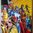 Avengers Captain America Marvel Comics Poster by Alan Davis