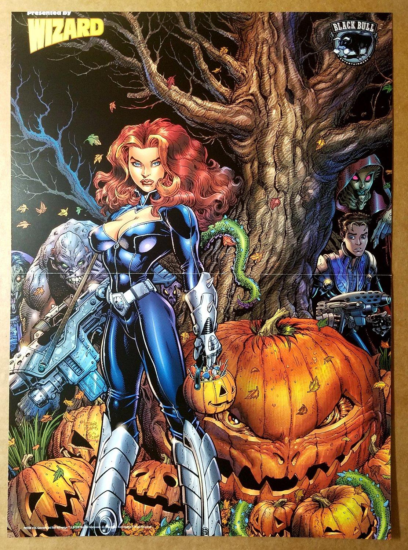 Gate Crasher Black Bull Comics Poster by Art Adams